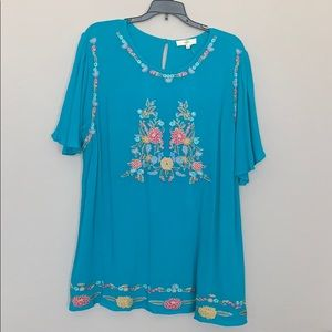 Boutique brand Mexican style shirt